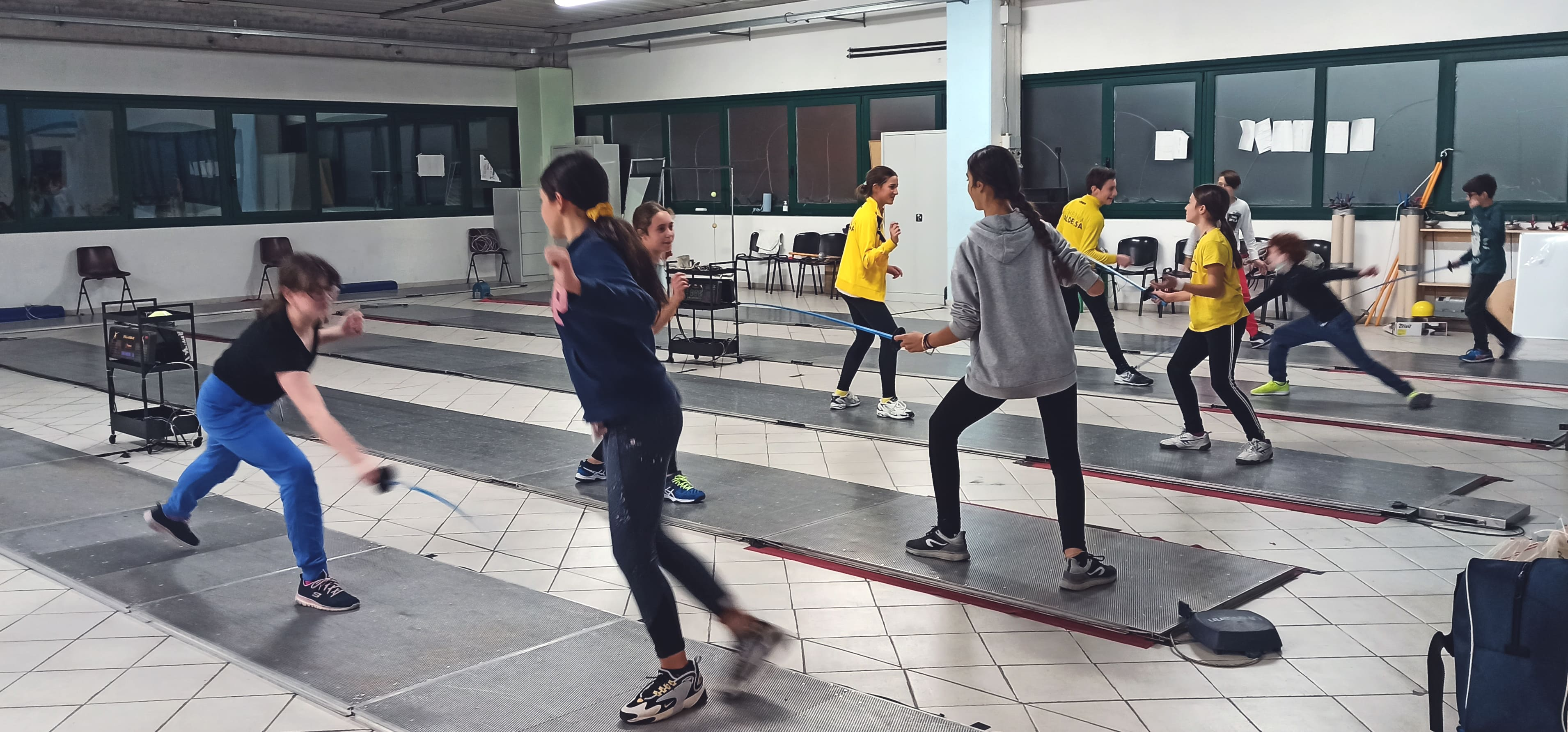 Scherma in Toscana a Colle Val d'Elsa (Siena) - Sport Fioretto Spada per bambini, ragazzi e adulti in Valdelsa, Colle, Monteriggioni, Poggibonsi, Casole d'Elsa.'